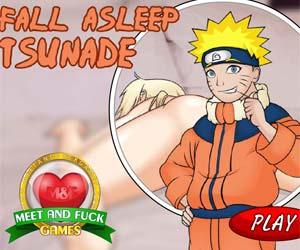 Skim Asleep Tsunade