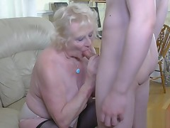 Chris cums inside Claires matured bawdy cleft