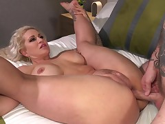 Major ass, golden-haired milf, Ryan Conner is having untamed anal act of love with a tattooed guy, Will Havoc