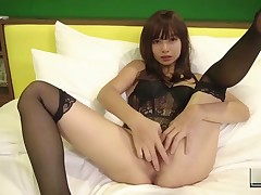 Damp Chinese Doll In Sexy pants Fingers Her Pink Love-cage To Receive Orgasm (kylie Ng)