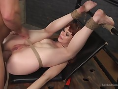 Redhead Cutie Alexa Nova Intense Porn Movie scene