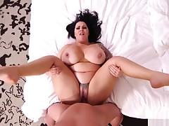 MomPov Lacy - 39 year old dick water fuck E431
