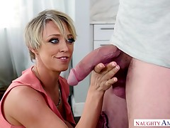 Fairy-haired Milf Dee Williams Can't Say No To Infant D!