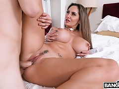 Ava Addams - Ava Fucks Her Stepson for Sniffing Her Strings