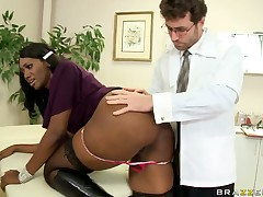 Anal Coverage by James Deen and appealing Nyomi Banxx