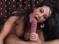 Ava Addams Brazzzers POV Oral sex & Titfuck Compilation